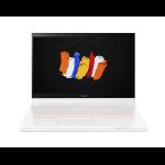 "Acer ConceptD CC715-71P Hybrid (2-in-1) 39.6 cm (15.6"") 3840 x 2160 pixels Touchscreen 10th gen Intel® Core™ i7 16 GB DDR4-SDRAM 1000 GB SSD NVIDIA Quadro RTX 3000 Wi-Fi 6 (802.11ax) Windows 10 Pro White"