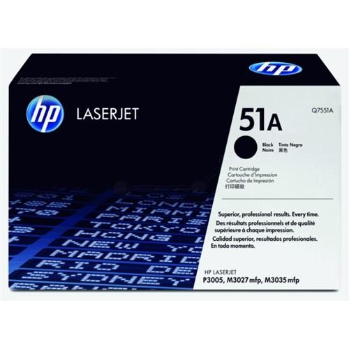 HP Q7551A (51A) Toner black, 6.5K pages