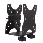 Newstar NM-TC100BLACK Monitor stand-mounted CPU holder Black CPU holder