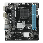 Asrock 760GM-HDV AMD Socket AM3+ Micro ATX VGA/DVI-D/HDMI DDR3 USB 2.0 Motherboard