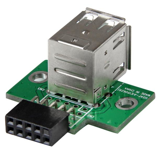 StarTech.com Adaptador Header USB de 2 Puertos para Placa Base