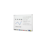 QUARTET PENRITE WHITEBOARD PREM ALUMINIUM FRAME 900X900MM