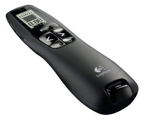 Logitech R800 Black wireless presenter