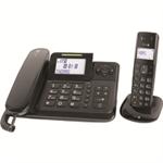 Doro Comfort 4005 Analog/DECT telephone Caller ID Black