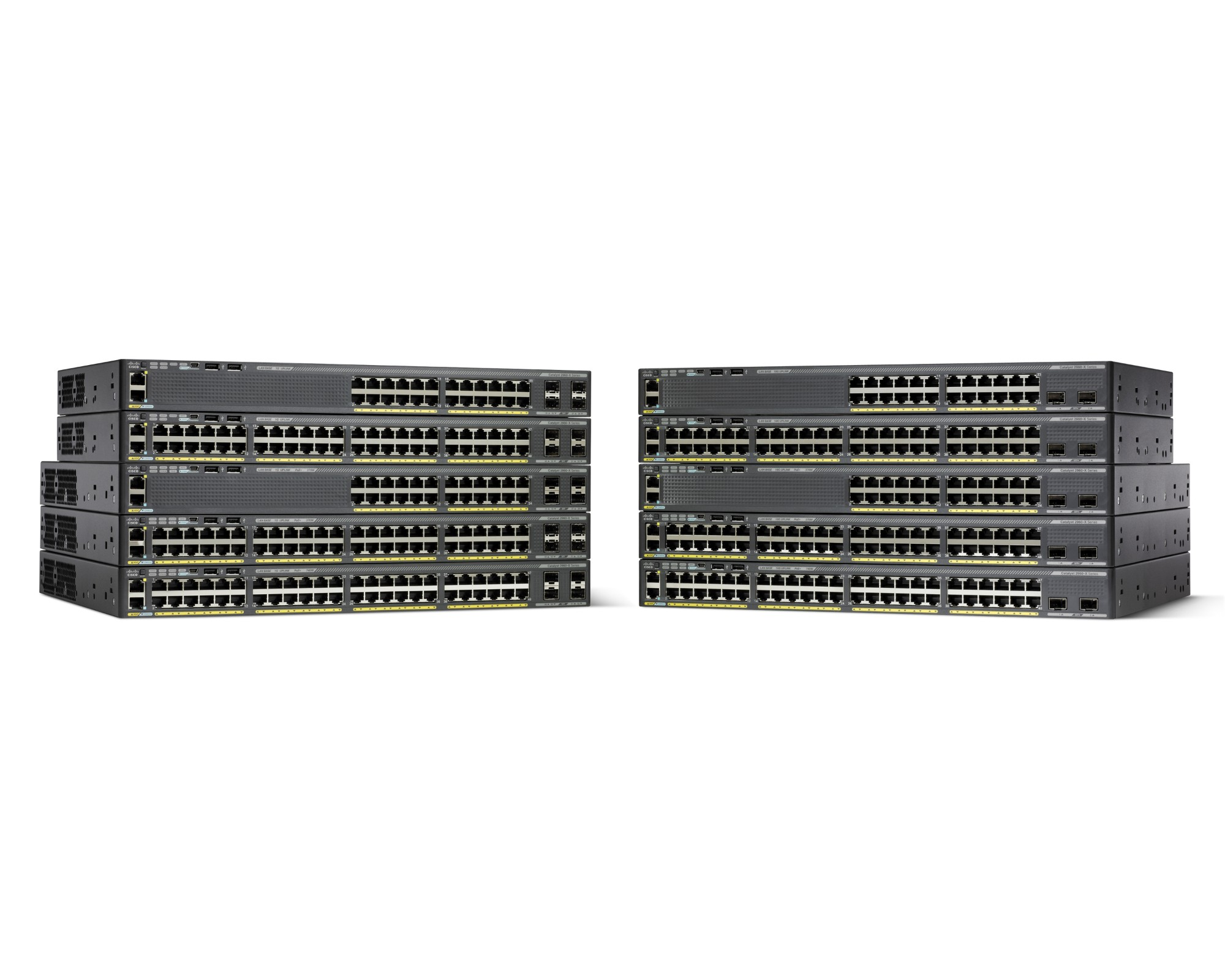 Cisco Catalyst WS-C2960X-48LPD-L network switch Managed L2 Gigabit Ethernet (10/100/1000) Black Power over Ethernet (PoE)