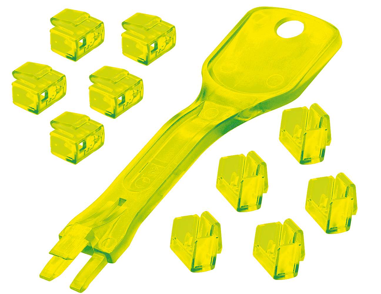 Lindy 40482 cable lock Yellow