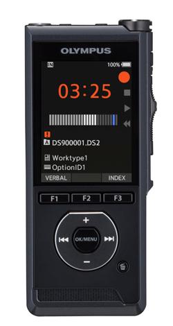 Olympus DS-9000 Internal memory & flash card Black
