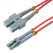MCL 3m SC/LC cable de fibra optica OM2 Red,Grey