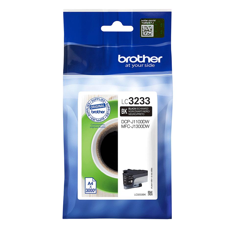 Brother LC-3233BK cartucho de tinta Original Negro 1 pieza(s)