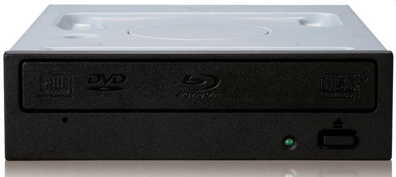 Pioneer BDR-209DBK Internal Blu-Ray DVD Combo Black optical disc drive