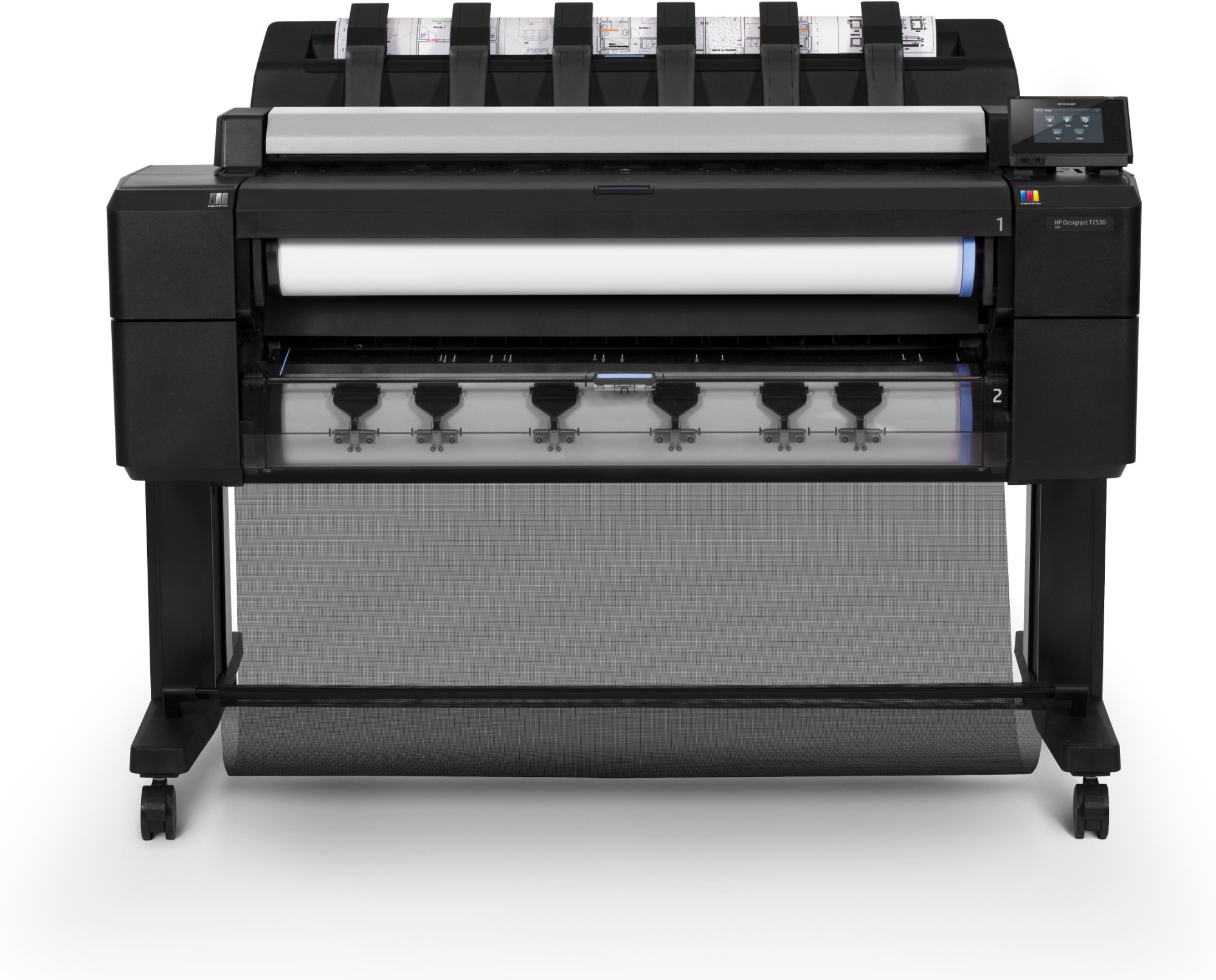 HP Designjet T2530 Ethernet LAN Colour 2400 x 1200DPI Thermal inkjet A0 (841 x 1189 mm) large format printer