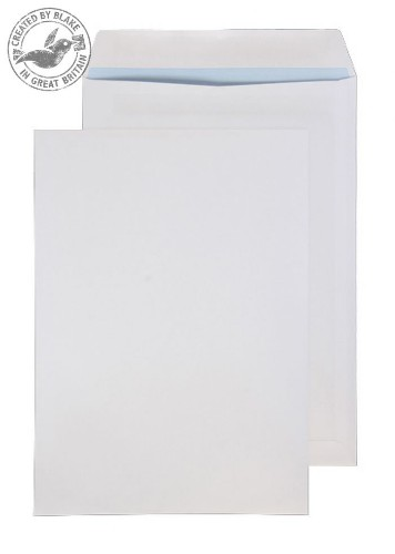 Blake Purely Everyday White Self Seal Pocket B4 352x250mm 100gsm (Pack 250)