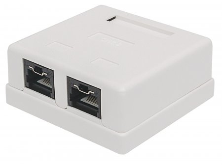 Intellinet 771467 network junction box Cat6 White
