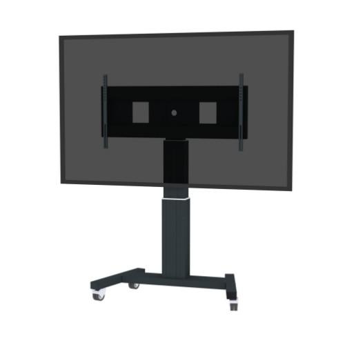"Newstar PLASMA-M2500BLACKMS Portable flat panel floor stand Black 2.54 m (100"")"