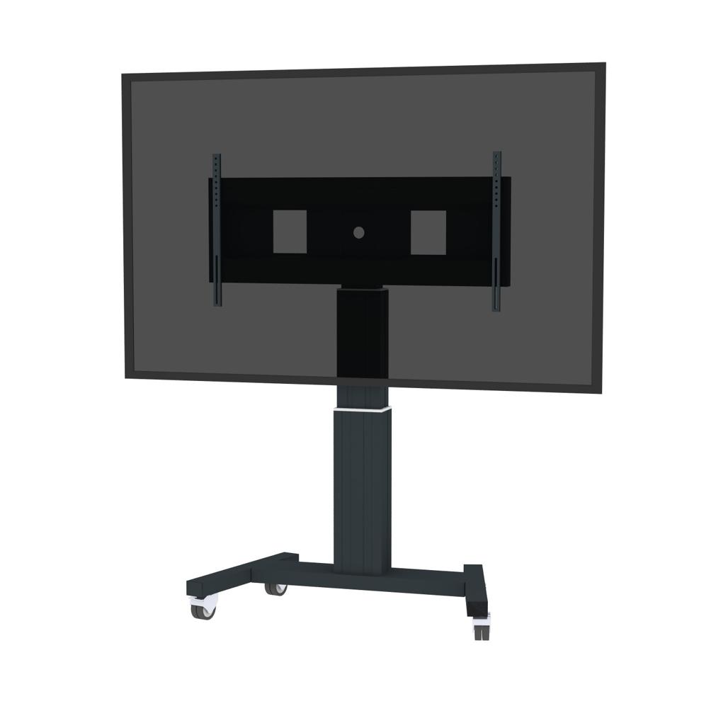"Newstar PLASMA-M2500BLACKMS 100"" Portable flat panel floor stand Black"