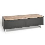 "Techlink 406431 flat panel floorstand Portable flat panel floor stand Grey,Walnut 152.4 cm (60"")"