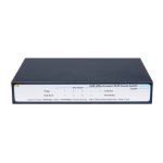 Hewlett Packard Enterprise OfficeConnect 1420 5G PoE+ (32W) Unmanaged L2 Gigabit Ethernet (10/100/1000) Grey 1U Power over Ethernet (PoE)