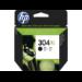 HP N9K08AE (304XL) Ink cartridge black, 300 pages @ 5% coverage, 6ml