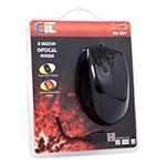 CIT Optical USB Combo Mouse - Black, (MS-M14)