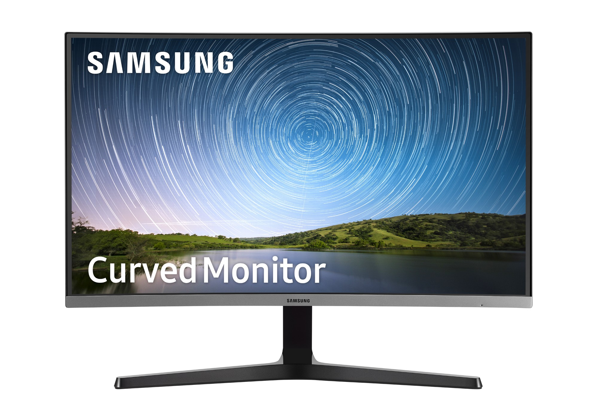 "Samsung C27R500FHU computer monitor 68,6 cm (27"") Full HD LCD Gebogen Zwart"