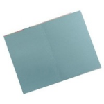 Guildhall L SQUARE CUT FOLDER 315GSM BLUE