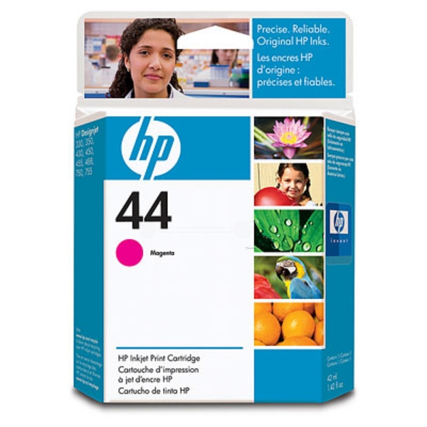 HP 51644ME (44) Printhead magenta, 1.6K pages, 42ml