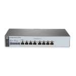Hewlett Packard Enterprise 1820-8G Managed network switch L2 Gigabit Ethernet (10/100/1000) 1U Grey