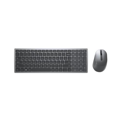 DELL KM7120W keyboard RF Wireless + Bluetooth QWERTY Grey, Titanium