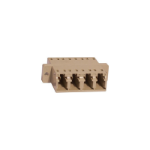 Cablenet PPLCQMM fibre optic adapter LC Beige