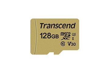 Transcend TS128GUSD500S memory card 128 GB MicroSDXC Class 10 NAND