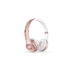 Apple Beats Solo3 Headphones & mic ROSE GOLD