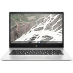 "HP Chromebook x360 14 G1 Silver 35.6 cm (14"") 1920 x 1080 pixels Touchscreen 8th gen Intel® Core™ i5 8 GB DDR4-SDRAM 64 GB Flash Wi-Fi 5 (802.11ac) Chrome OS"