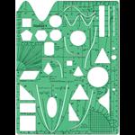 MATHOMAT STENCIL TEMPLATE MATH-AID & PROLINER NON-FORMULAE YRS 9-12(EACH)