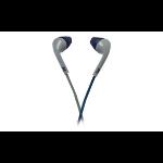 Perfect Choice PC-116264 Dentro de oído Biauricular Alámbrico Azul, Gris auricular para móvil