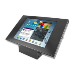 "Maclocks Enclosure Kiosk Mounting Kit for Samsung Galaxy Tab 3 10.1"" - Black - by Maclocks (101B300GEB) - Tablet Not Included"