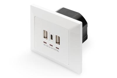 Digitus DA-70618 socket-outlet White