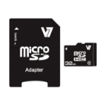 V7 Micro SDHC 32GB Class 10 + SD Adapter memory card