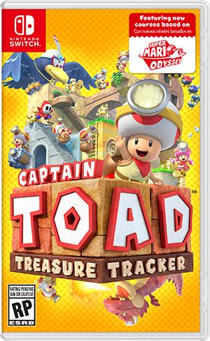 Nintendo Captain Toad: Treasure Tracker, Switch video game Nintendo Switch Basic