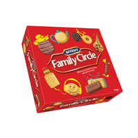 Jacobs MCVITIES FAMILY CIRCLE BISCUITS 670G