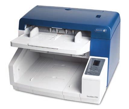 Xerox DocuMate 4790 600 x 600 DPI Flatbed & ADF scanner Blue,White