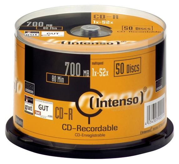 Intenso CD-R 700MB CD-R 700MB 50pc(s)