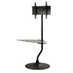 "Peerless FPZ-646 46"" Black flat panel floorstand"