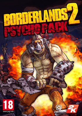 Nexway Borderlands 2 - Psycho Pack (DLC) Video game downloadable content (DLC) PC Español