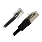 Cisco DSL Dual 2m Black networking cable