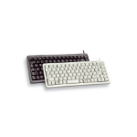 CHERRY Compact , Combo (USB + PS/2) keyboard USB + PS/2 QWERTY Grey