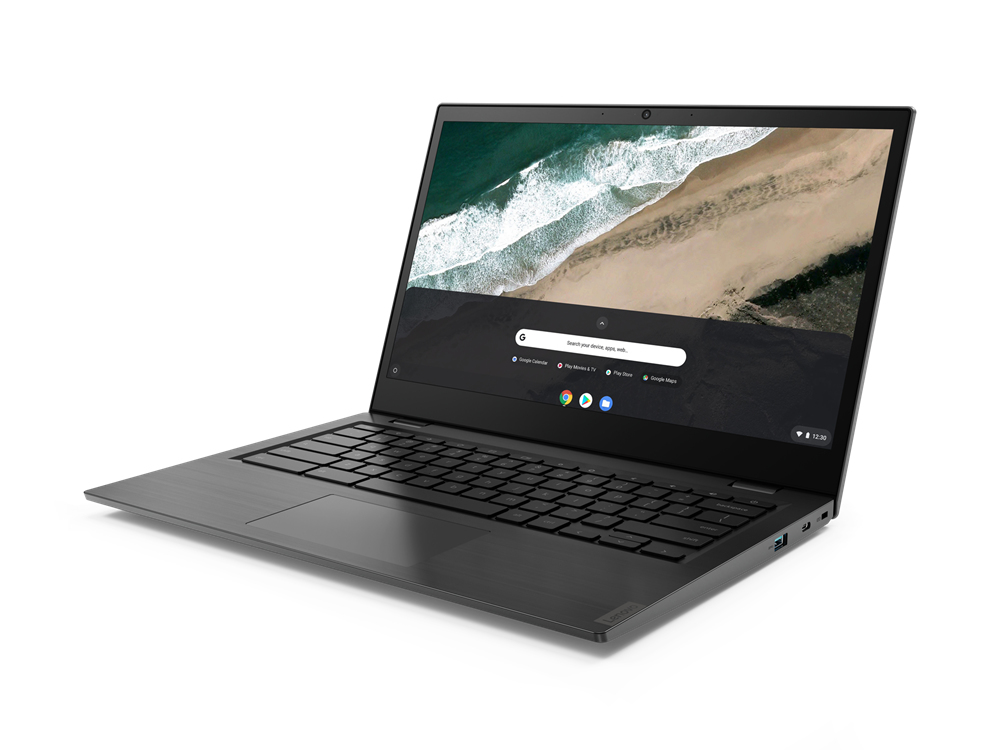 "Lenovo S345 Chromebook Grey 35.6 cm (14"""") 1920 x 1080 pixels 7th Generation AMD A4-Series APUs 4 GB DDR4-SDRAM 32 GB eMMC Wi-Fi 5 (802.11ac) Chrome OS"