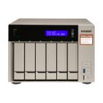 QNAP TVS-673E NAS Tower Ethernet LAN Grijs RX-421BD