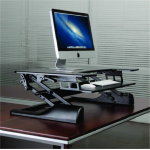 Newstar NS-WS100BLACK desktop sit-stand workplace