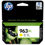 HP 3JA29AE#301 (963XL) Ink cartridge yellow, 1.6K pages, 23ml