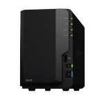 Synology DiskStation DS218 12TB (Seagate Ironwolf Pro) 2 bay; Realtek RTD1296 quad-core 1.4GHz; 2 GB DDR4; de